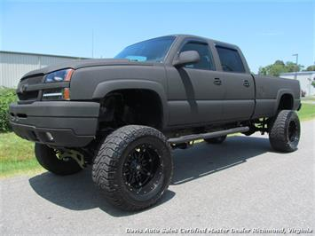 2006 Chevrolet Silverado 2500 HD LS 4X4 Crew Cab Long Bed Custom Truck