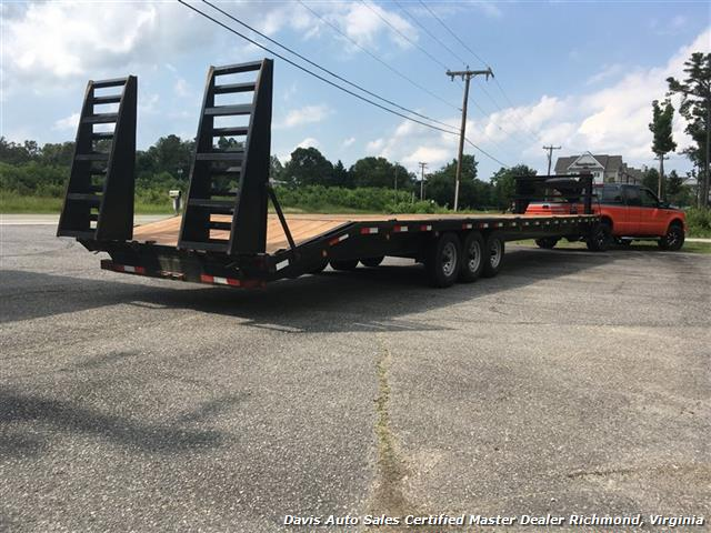 2014 Down To Earth 40 Foot Equipment/Car Carrier Trailer