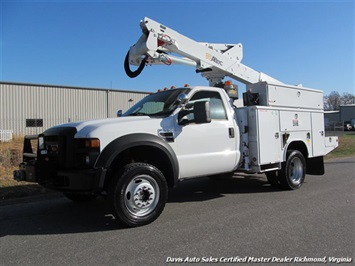2008 Ford F550 XL Bucket Truck