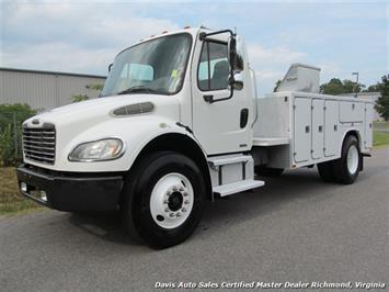 2007 Freightliner M2 106 Business Class C7 CAT DRW Utility Bin Truck