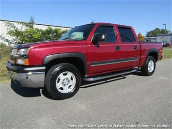 2004 Chevrolet Silverado 1500 LT Z71 Off Road Clean Stock 4X4 Crew Cab Short Bed Truck