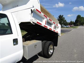 2005 Ford F-550 Super Duty XL Diesel 4X4 Dually Crew Cab Dump Bed Snow Plow - Photo 10 - Richmond, VA 23237