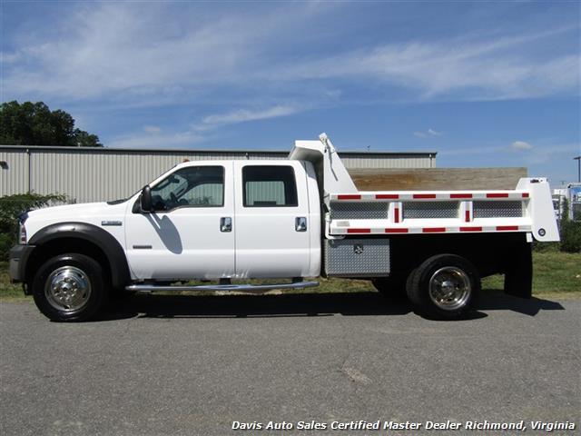 2005 Ford F-550 Super Duty XL Diesel 4X4 Dually Crew Cab Dump Bed Snow Plow - Photo 3 - Richmond, VA 23237