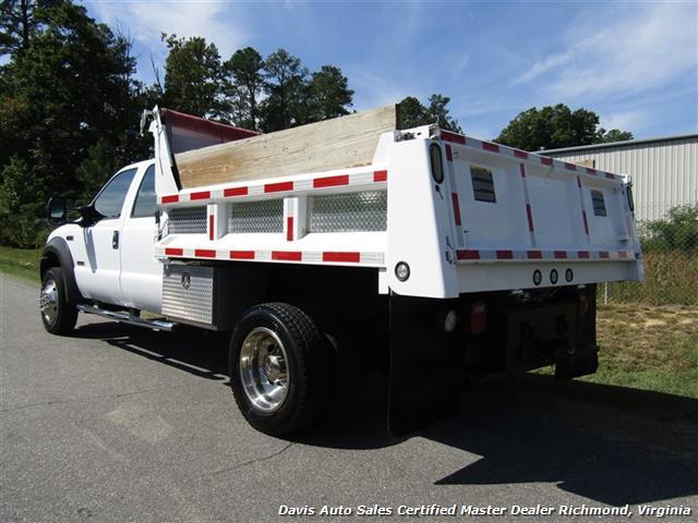 2005 Ford F-550 Super Duty XL Diesel 4X4 Dually Crew Cab Dump Bed Snow Plow - Photo 4 - Richmond, VA 23237