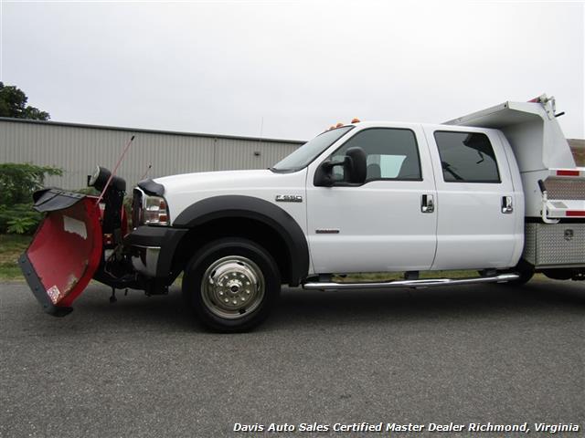 2005 Ford F-550 Super Duty XL Diesel 4X4 Dually Crew Cab Dump Bed Snow Plow - Photo 34 - Richmond, VA 23237