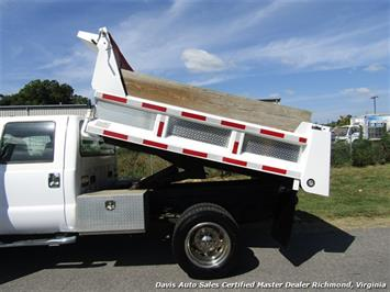 2005 Ford F-550 Super Duty XL Diesel 4X4 Dually Crew Cab Dump Bed Snow Plow - Photo 31 - Richmond, VA 23237