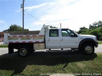 2005 Ford F-550 Super Duty XL Diesel 4X4 Dually Crew Cab Dump Bed Snow Plow - Photo 12 - Richmond, VA 23237