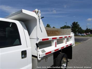2005 Ford F-550 Super Duty XL Diesel 4X4 Dually Crew Cab Dump Bed Snow Plow - Photo 24 - Richmond, VA 23237