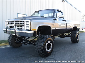 1987 Chevrolet Silverado 1500 C K 10 Series Lifted 4X4 Regular Cab Long Bed Truck