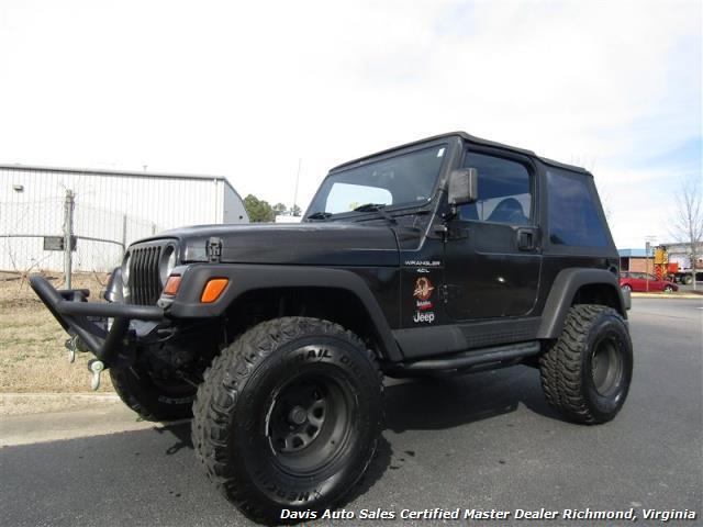 1997 jeep wrangler sahara edition 4x4 lifted 2 door 4 0l off road. Black Bedroom Furniture Sets. Home Design Ideas