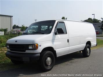 2000 Ford E-350 SD 7.3 Diesel Super Extended Econoline Cargo Work Commercial Van