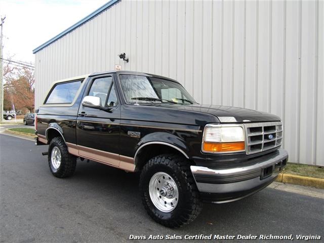 1995 Ford Bronco Eddie Bauer 4X4 OBS Old School Classic - Photo 21 - Richmond, VA 23237