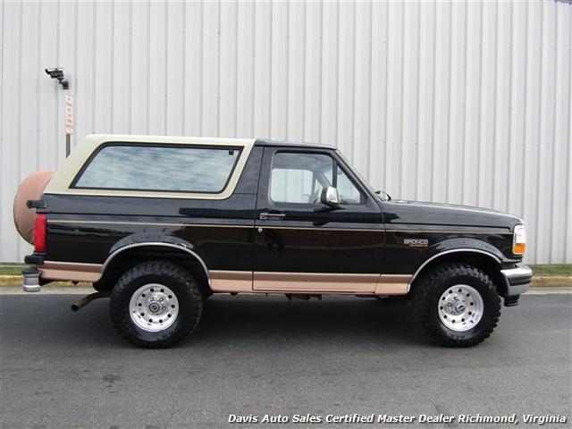1995 Ford Bronco Eddie Bauer 4X4 OBS Old School Classic - Photo 20 - Richmond, VA 23237