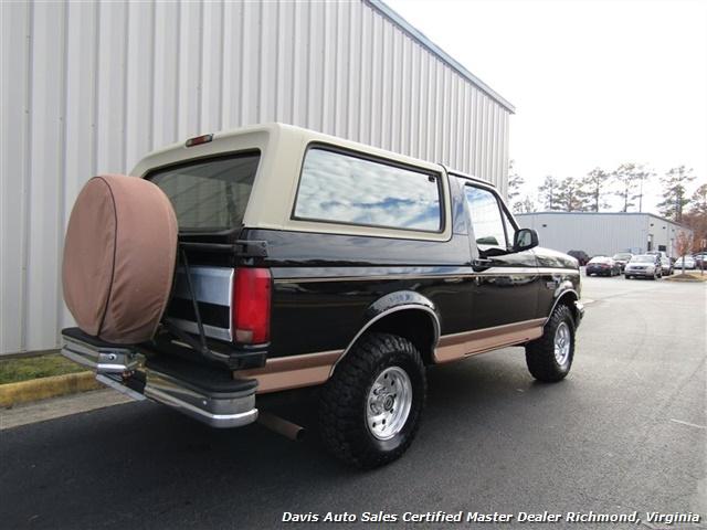 1995 Ford Bronco Eddie Bauer 4X4 OBS Old School Classic - Photo 19 - Richmond, VA 23237