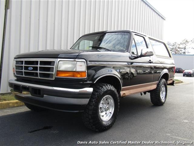 1995 Ford Bronco Eddie Bauer 4X4 OBS Old School Classic - Photo 1 - Richmond, VA 23237