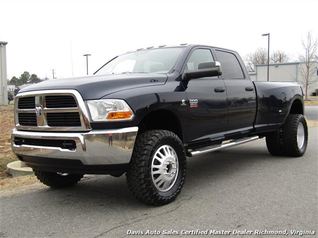 2012 Dodge Ram 3500 HD SLT Cummins Diesel Lifted 4X4 Dually Crew Cab - Photo 1 - Richmond, VA 23237