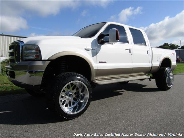 2005 ford f 250 super duty king ranch fx4 lifted diesel. Black Bedroom Furniture Sets. Home Design Ideas