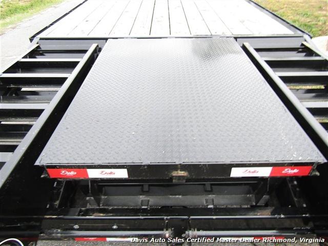 2016 Delta Manufacturing Gooseneck HD Equipment Car Truck 24 Foot Trailer - Photo 24 - Richmond, VA 23237