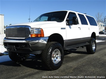 2001 Ford Excursion XLT Limited 7.3 Diesel Lifted 4X4 3rd Row Leather SUV