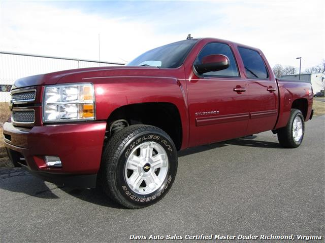 Limited Edition Silverado >> 2013 Chevrolet Silverado 1500 LT Z71 Off Road 4X4 Crew Cab Short Bed