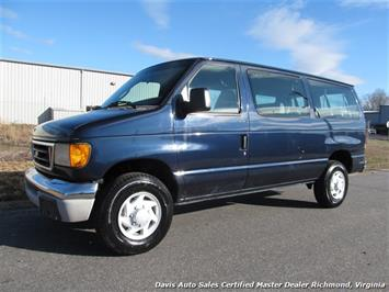 2003 Ford E-Series Wagon E-350 Super Duty XLT Clubwagon Passenger Van