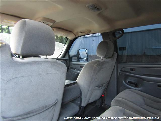 2005 GMC Sierra 2500 HD SLT Duramax Diesel LLY 4X4 Crew Cab Short Bed - Photo 20 - Richmond, VA 23237