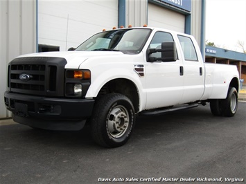 2009 Ford F-350 Super Duty XL Diesel 4X4 Dually Crew Cab Long Bed Truck
