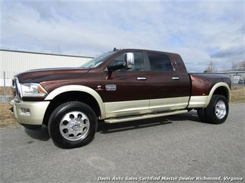 2015 Dodge Ram 3500 Laramie Longhorn Cummins Turbo Diesel 4X4 Dually Mega Cab Short Bed Truck