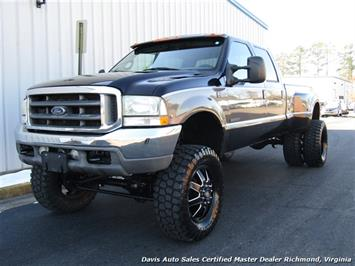 2002 Ford F350 Super Duty Lariat LE 7.3 Diesel Lifted 4X4 Dually Crew Cab Long Bed Truck