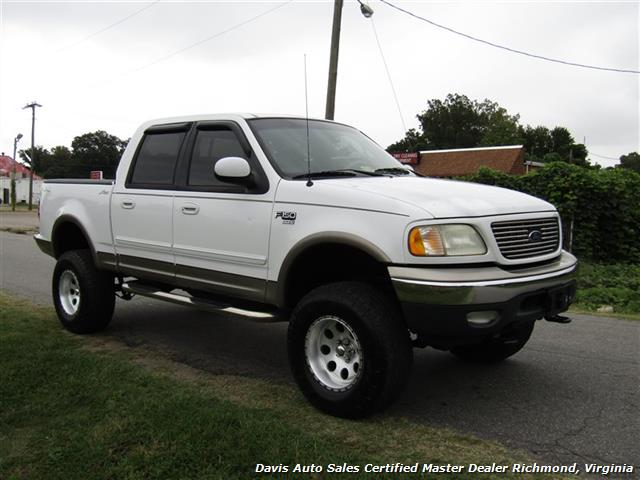 2001 Ford F-150 Lariat Lifted 4X4 SuperCrew Short Bed - Photo 14 - Richmond, VA 23237