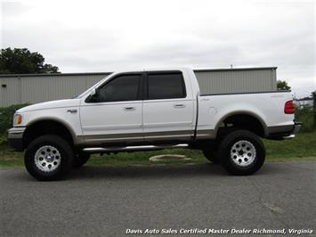 2001 Ford F-150 Lariat Lifted 4X4 SuperCrew Short Bed - Photo 2 - Richmond, VA 23237