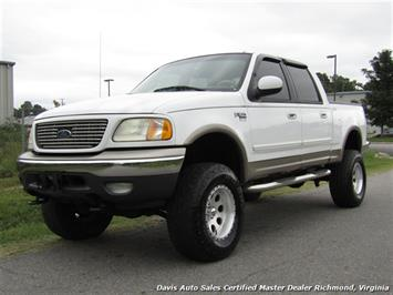 2001 Ford F-150 Lariat Lifted 4X4 SuperCrew Short Bed - Photo 1 - Richmond, VA 23237