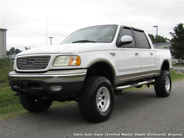 2001 ford f 150 lariat lifted 4x4 supercrew short bed sold. Black Bedroom Furniture Sets. Home Design Ideas