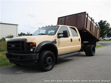 2008 Ford F-450 Super Duty XL Diesel Crew Cab Dump Bed Commercial Work Truck