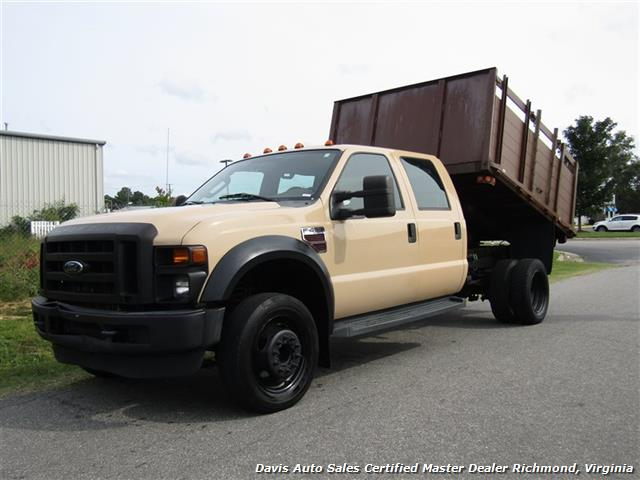 2008 Ford F-450 Super Duty XL Diesel Crew Cab Dump Bed Commercial Work - Photo 1 - Richmond, VA 23237