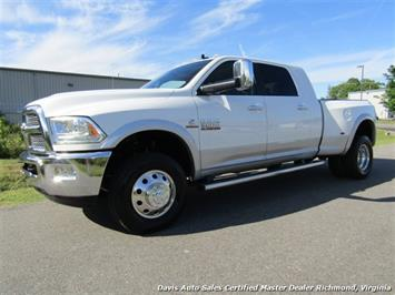 2015 Dodge Ram 3500 Laramie Cummins Turbo Diesel 4X4 Dually Mega Cab Short Bed Truck