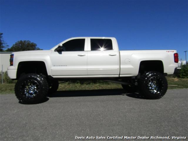 chevrolet trucks 2015 white. 2015 chevrolet silverado 1500 lt z71 pearl 4x4 full size crew cab lifted photo 2 trucks white