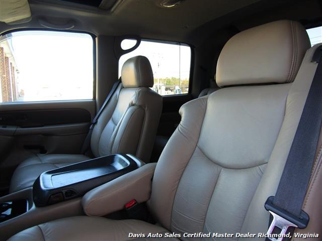 2002 Chevrolet Avalanche LT 1500 Z71 Lifted 4X4 Crew Cab Short Bed SUV - Photo 7 - Richmond, VA 23237
