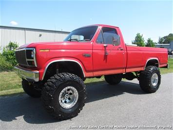 1981 Ford F-350 Super Duty XLT 7.3 4X4 Lifted Regular Cab Long Bed Truck