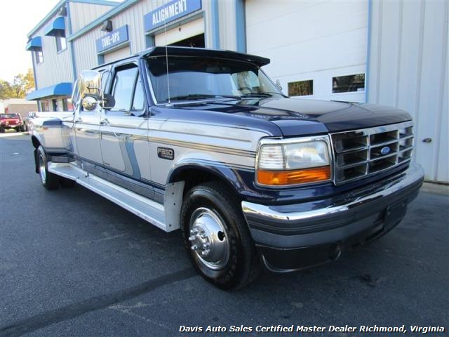 Ford F Dually X Long Bed Truck