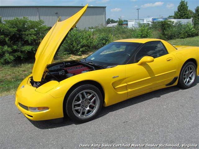2003 Chevrolet Corvette Z06 405 HP C5 50th Anniversary Manual Hard Top - Photo 19 - Richmond, VA 23237