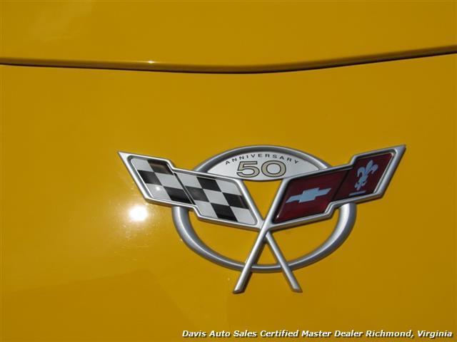 2003 Chevrolet Corvette Z06 405 HP C5 50th Anniversary Manual Hard Top - Photo 27 - Richmond, VA 23237