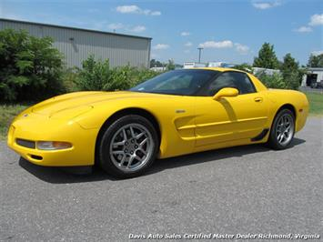2003 Chevrolet Corvette Z06 405 HP C5 50th Anniversary Manual Hard Top Coupe