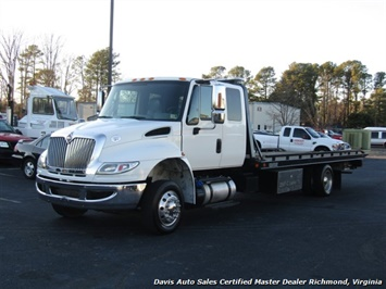 2015 International DuraStar 4300 MA025 6.7 Cummins Diesel Air Ride LCG Rollback Wrecker Tow Truck