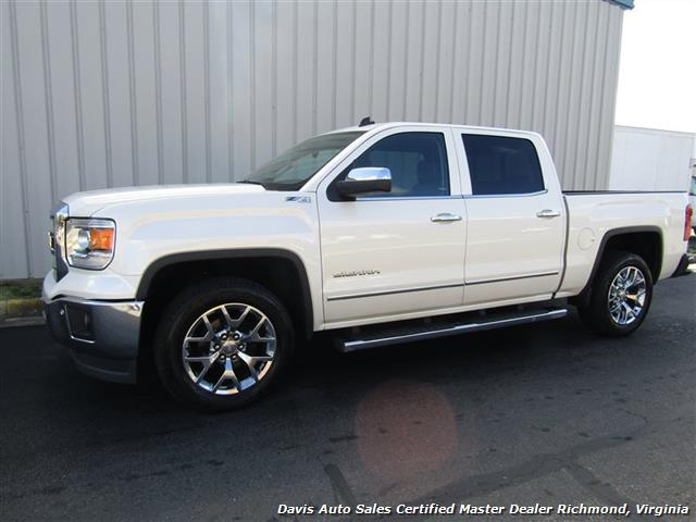 2014 GMC Sierra 1500 SLT Z71 Platinum White 4X4 Crew Cab (SOLD) - Photo 34 - Richmond, VA 23237