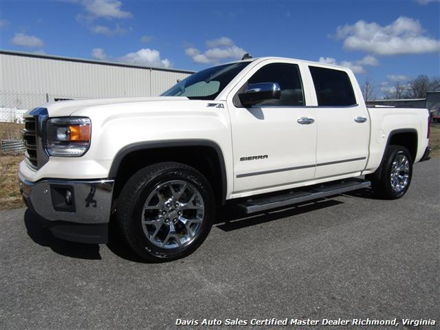 2014 GMC Sierra 1500 SLT Z71 Platinum White 4X4 Crew Cab (SOLD) - Photo 1 - Richmond, VA 23237