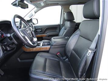 2014 GMC Sierra 1500 SLT Z71 Platinum White 4X4 Crew Cab Short Bed - Photo 27 - Richmond, VA 23237