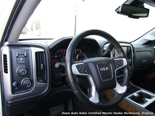 2014 GMC Sierra 1500 SLT Z71 Platinum White 4X4 Crew Cab Short Bed - Photo 25 - Richmond, VA 23237