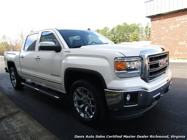 2014 GMC Sierra 1500 SLT Z71 Platinum White 4X4 Crew Cab (SOLD) - Photo 35 - Richmond, VA 23237