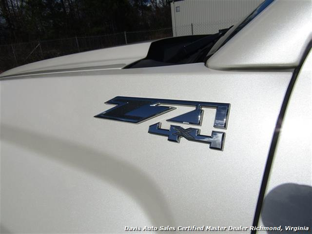 2014 GMC Sierra 1500 SLT Z71 Platinum White 4X4 Crew Cab Short Bed - Photo 16 - Richmond, VA 23237